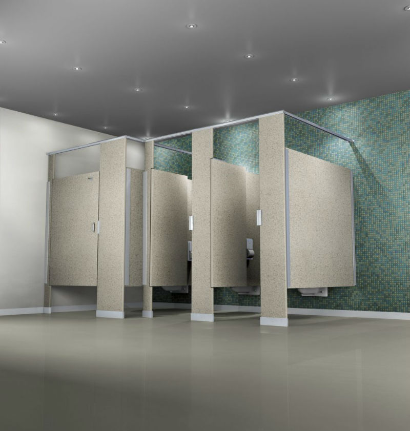 putty bathroom partitions