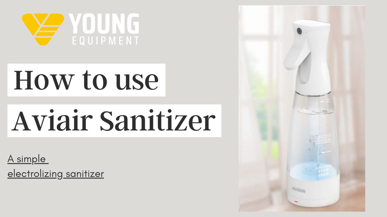 How to use Aviair sanitizer