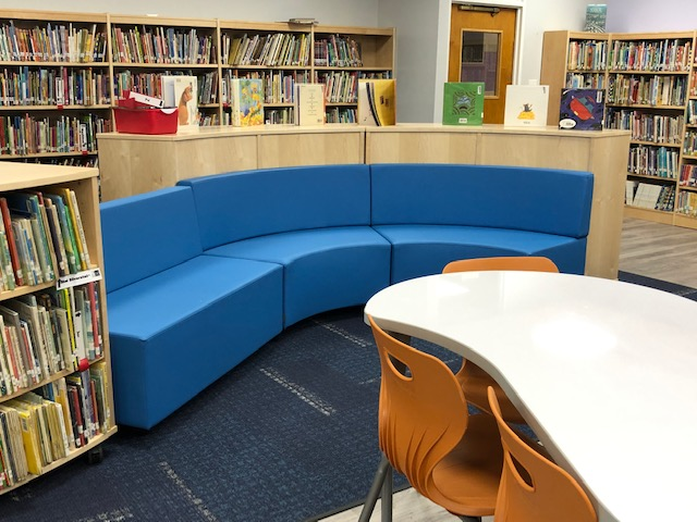 Library unique seating
