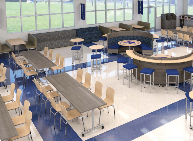 cafeteria furniture and booths