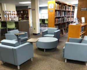 library seating furniture